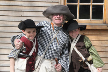Sudbury Minute Men at Barrett Farm