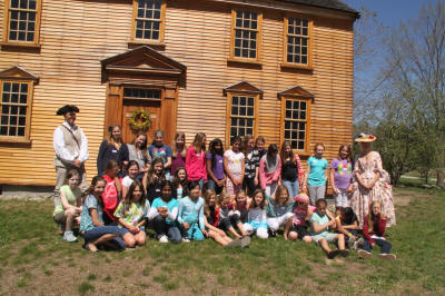 Nashoba Brooks 5th grade visits.